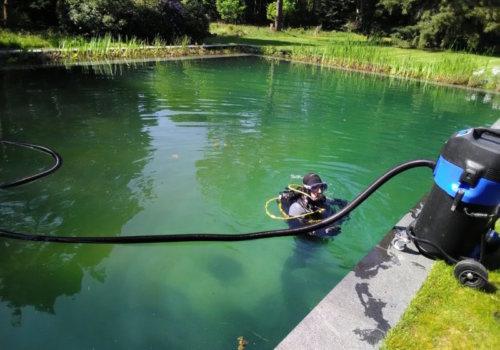 zwemvijver onderhoud specialist