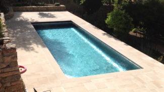 zwembad helder water uniek