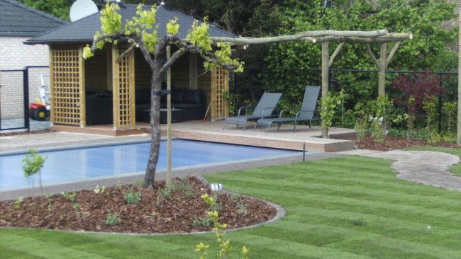 uniek zwembad met oase terras ollevier en co limburg
